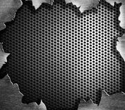 Grunge steel metal background Stock Image