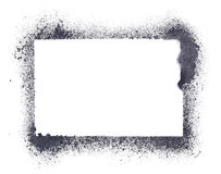 Grunge stencil frame Stock Photography