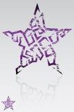 Grunge Stern Stockbilder