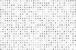 Grunge stippelde bckground met cirkels, punten, richt verschillende grootte, schaal Halftone patroon Stock Afbeeldingen