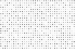 Grunge stippelde bckground met cirkels, punten, richt verschillende grootte, schaal Halftone patroon Royalty-vrije Stock Foto's