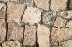 Grunge stone brick wall background texture. See my other works in portfolio Royalty Free Stock Photography