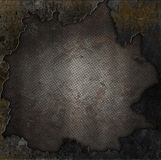 Grunge stone and rusty metal background Royalty Free Stock Photography