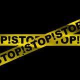Grunge stop background Stock Image