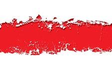Grunge strip background blood Stock Photography