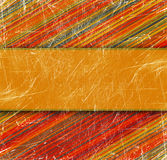 Grunge striped background. With place for text royalty free illustration