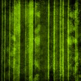 Grunge striped background. In green colors Stock Images