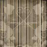 Grunge  striped background with ancient ornament Royalty Free Stock Image