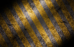 Grunge striped cunstruction background Stock Images