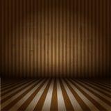 Grunge striped interior Royalty Free Stock Image