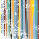 Grunge stripes. Grunge multi colored wavy stripes Stock Image