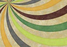 Grunge Stripes Background. Curved Stripes Background - Bitmap Illustration stock illustration