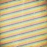 Grunge background with stripes Stock Photography