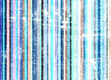 Grunge stripes Hintergrundblau Stockbild