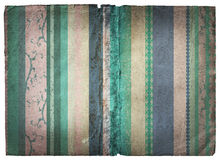 Grunge stripes page Stock Image