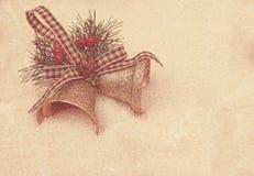 Grunge style Christmas background Stock Photo