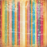 Grunge style: painted lines with stains Stock Images