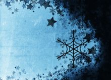 Grunge style  textured winter background Stock Photo