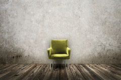 Grunge styled interior Stock Images