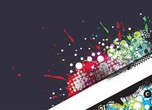 Grunge stylish banners Stock Images