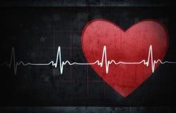 Grunge stylowy medyczny tło Zdjęcie Royalty Free