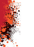 grunge subtelny gorący czerwony Zdjęcia Stock