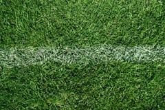 Grunge sujo das marcações do campo de futebol Foto de Stock