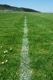 Grunge sujo das marcações do campo de futebol Imagem de Stock Royalty Free