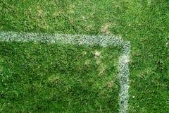Grunge sujo das marcações do campo de futebol Imagem de Stock