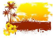 Grunge summer background Royalty Free Stock Photo