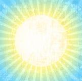 Grunge Sun Background Royalty Free Stock Images