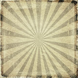 Grunge sun rays background Stock Photos