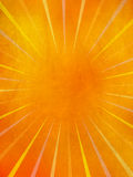 Grunge sun rays. Grunge yellow and orange sun rays Royalty Free Stock Photos