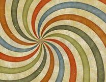 Grunge sunburst Stock Image