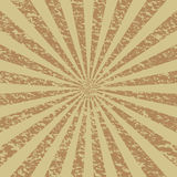 Grunge Sunburst [2]. Grunge (warm colors) sunburst background royalty free illustration