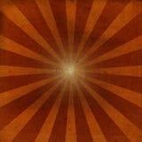 Grunge sunburst Royalty Free Stock Photography
