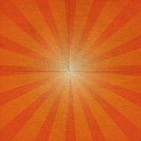 Grunge sunburst Royalty Free Stock Image