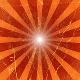 Grunge sunburst Stock Images