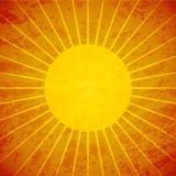 Grunge sunburst retro background Royalty Free Stock Photo
