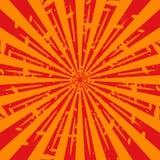 grunge sunburst swirl ελεύθερη απεικόνιση δικαιώματος