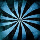 Grunge Sunburst Swirl Stock Photo