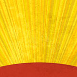 Grunge sunrays aged background. vector illustration