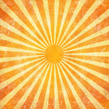 Grunge sunrays background Stock Photos