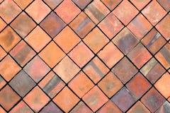 Grunge surface vintage brick wall. stock image