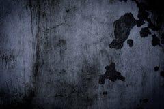 Grunge svart vägg (stads- textur) Fotografering för Bildbyråer