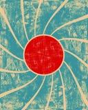 Grunge swirl background. On a blue royalty free illustration