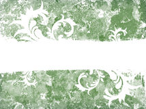 Grunge swirls. Grunge background with swirls and place fot text royalty free illustration