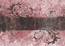 Grunge swirls. Grunge background with swirls in wood texture royalty free illustration