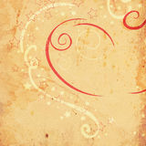 Grunge swirls and circles ornament Royalty Free Stock Images