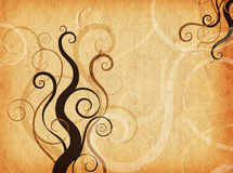Grunge swirls and curls Royalty Free Stock Photo